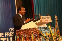 Discours de S.E. Paul BIYA, Président National du RDPC, à l'occasion de la clôture du 3ème Congrès Ordinaire du Rassemblement Démocratique du Peuple Camerounais.