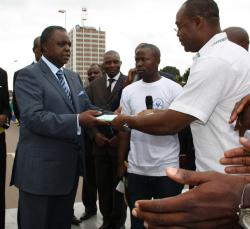 Presidential: A youth Walk in Yaounde starts Biya's campaign